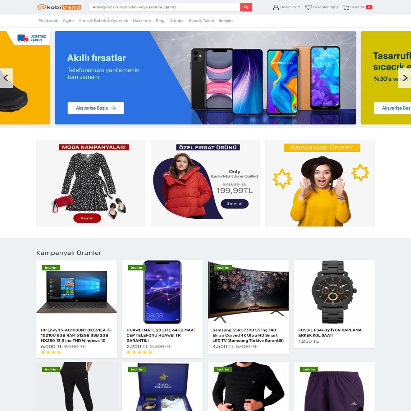 Giyim Kobitrend- Tüm Sektörlerle uyumlu